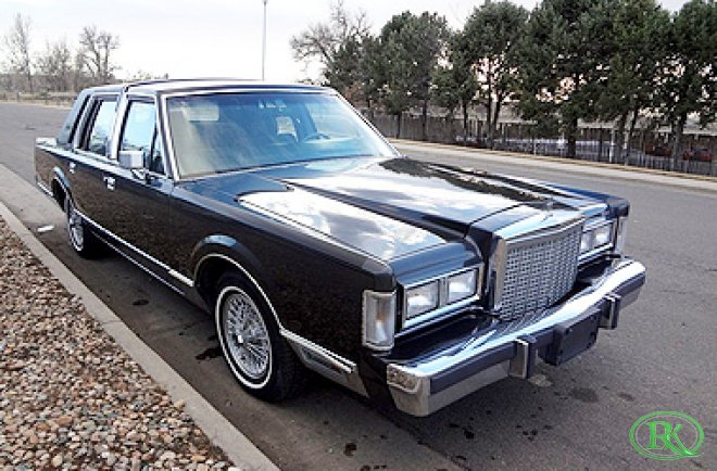 87 lincoln town car  1987 Lincoln Town Car