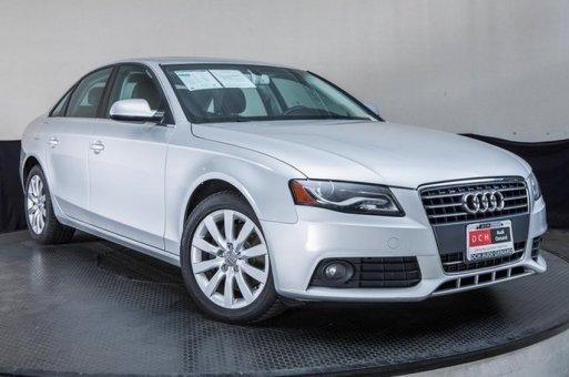 2011 Audi A4 2.0T Premium (Multitronic) Sedan