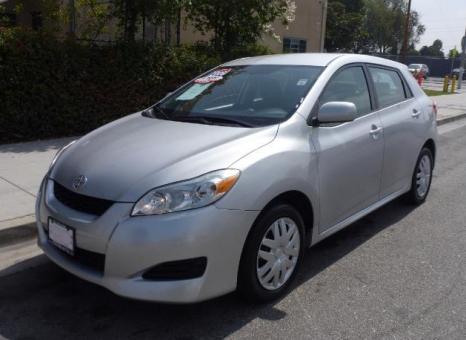 2009 Toyota Matrix SPORT
