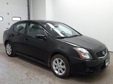 2010 NISSAN Sentra SR Sedan 4D black
