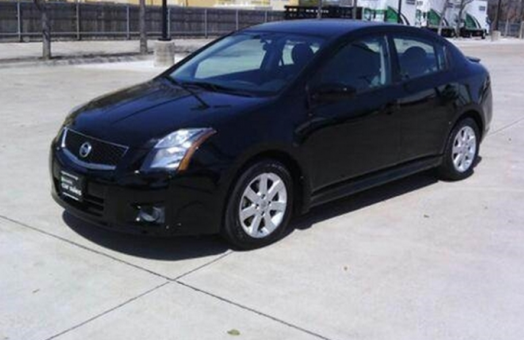 2012 NISSAN Sentra SR black Sedan