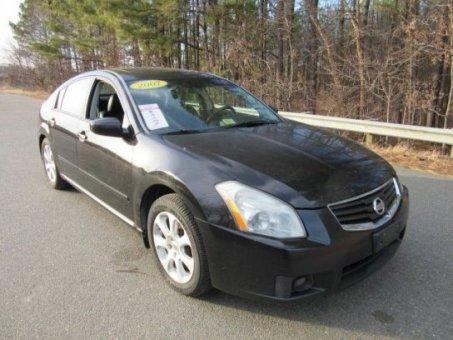 2007 Nissan Maxima black