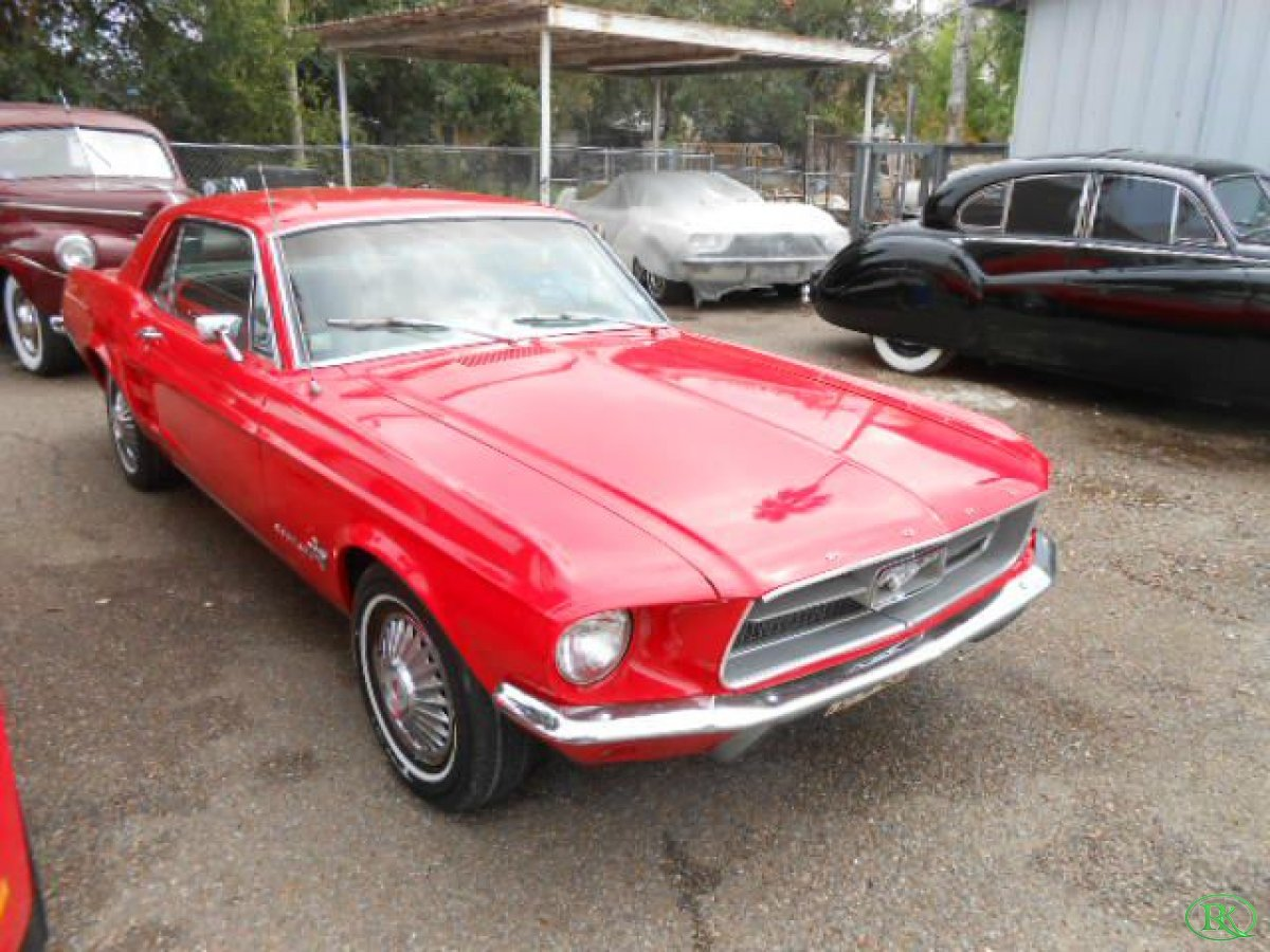 1967 Ford Mustang exclusive