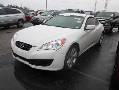 2012 Hyundai GENESIS 4C 2.0T