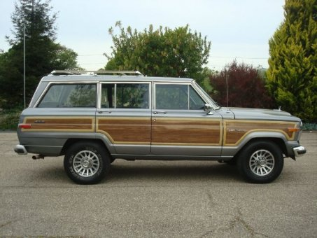 1991 Jeep Grand Wagoneer 4 Dr