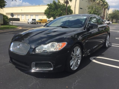 2010 Jaguar XF XFR
