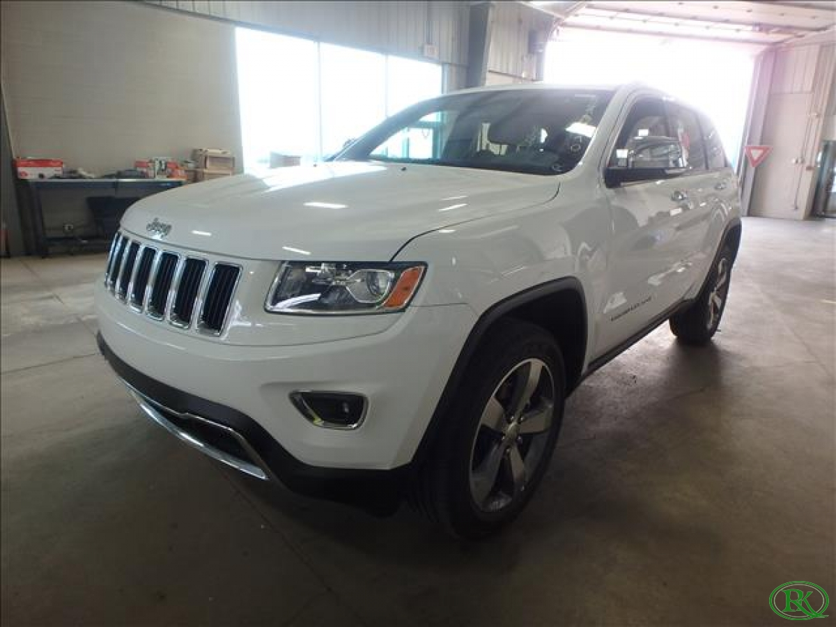 2015 JEEP GRAND CHEROKEE LIMITED - LOADED