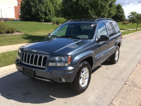 2004 Jeep GRAND CHEROKEE 2004 LAREDO