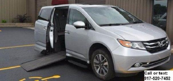 2015 Honda Odyssey Touring VMI North star Handicap mobility wheelchair accessible Van