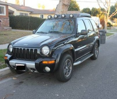 2003 JEEP LIBERTY RENEGADE SPORT UTILITY 4WD - Black