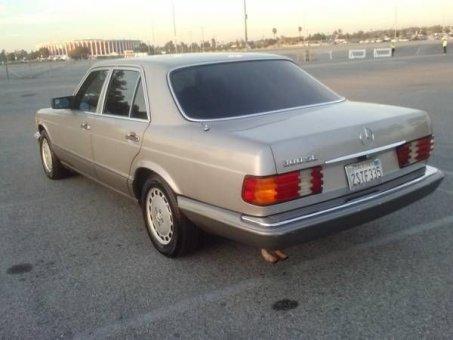 1990 Mercedes 300 SE V6 -Gold -Auto