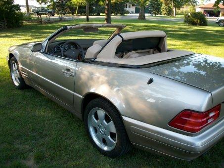 2000 Mercedes - Benz SL500