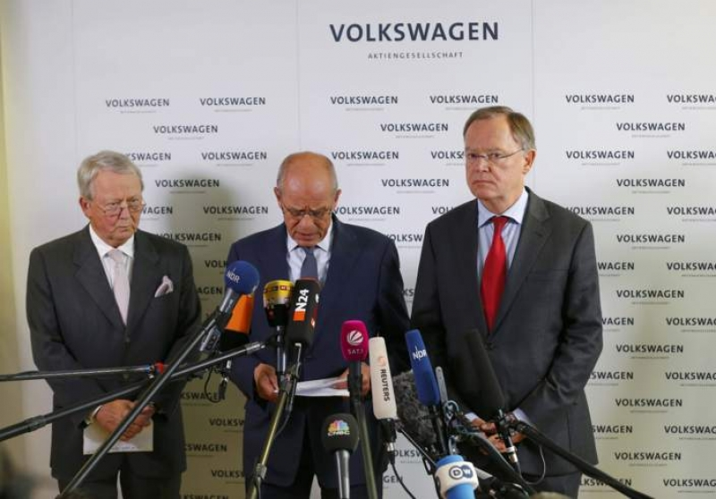 Volkswagen Group top executives' hard times