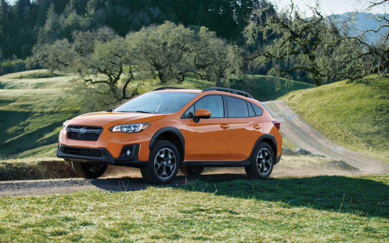 2018 Crosstrek brought Subaru to the Best April in its History