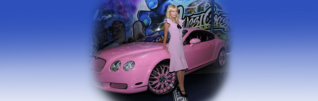 CHIC CARS OF CELEBRITIES
