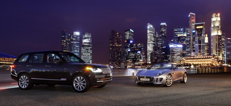 Land Rover doesn't hunt for big car sales