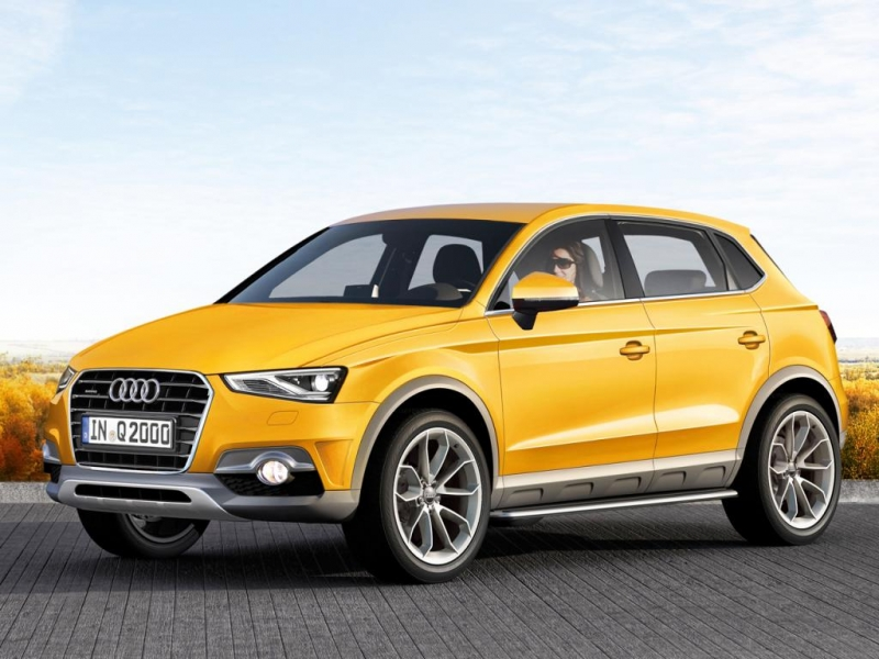 audi adds q2 and q4 to its crossover lineup. Black Bedroom Furniture Sets. Home Design Ideas