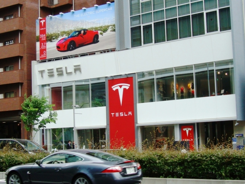 A lawsuit against Tesla from Virginia Auto Dealers