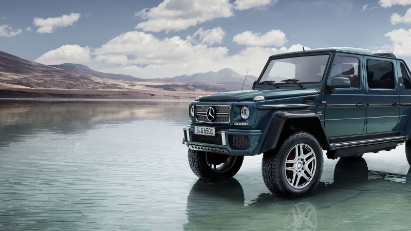 Mercedes marks new G-Class by recalling top 9 moments in G-Wagen history