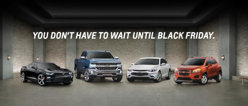 Black Friday isn't the best day of the year to buy a car!