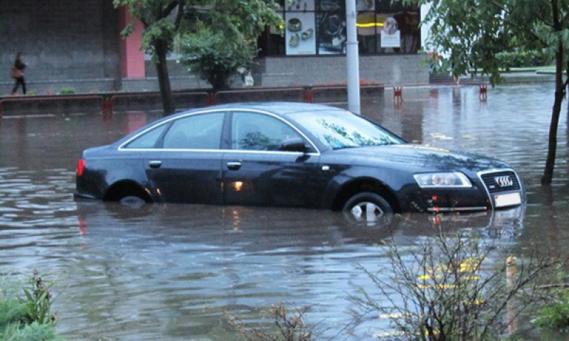 Audi production hit by flooding in the southwestern Germany
