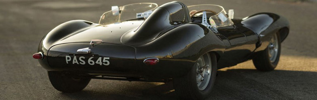 1955 Jaguar D-Type sold at Auto Auction