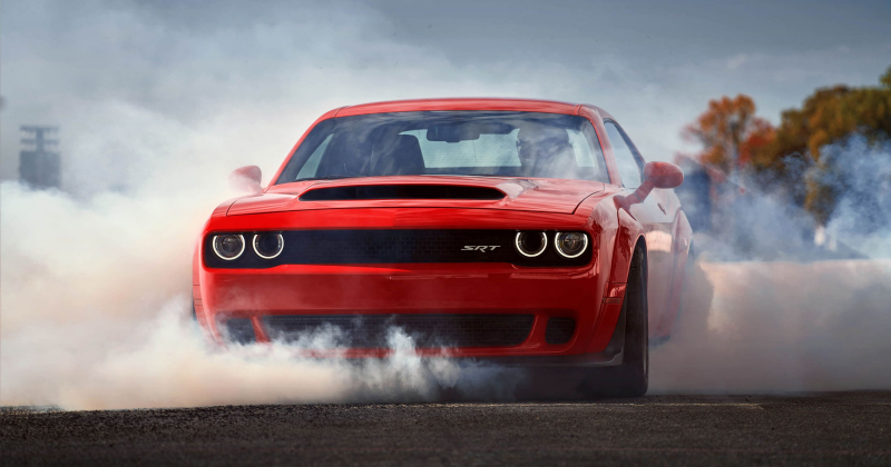 The Driver of a Dodge Challenger Hellcat Arrested at 160 mph