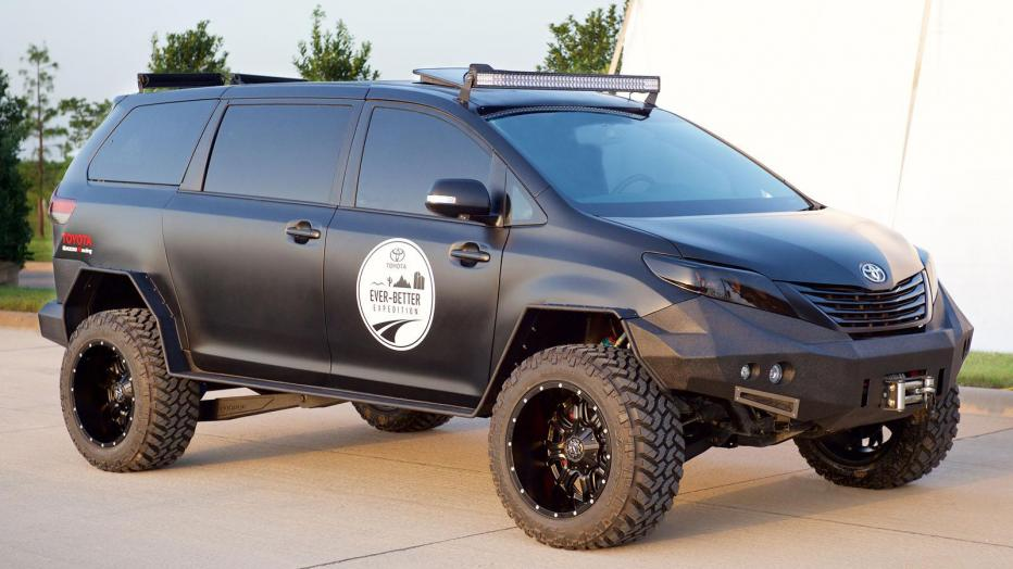 The Future of Law Enforcement in Toyota's Ultimate UV?