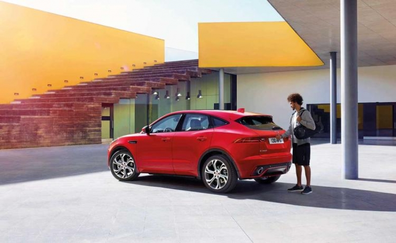 Jaguar E-Pace compact crossover arrives in January