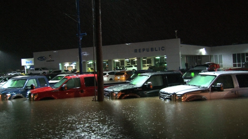 Flooded Texas Dealerships Say The Situation is Catastrophic