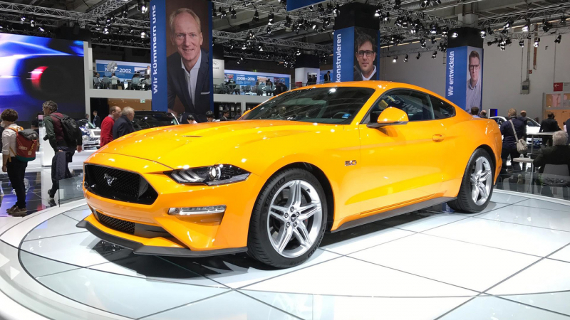 Ford Mustang Was The Best Selling Sports Coupe of 2017