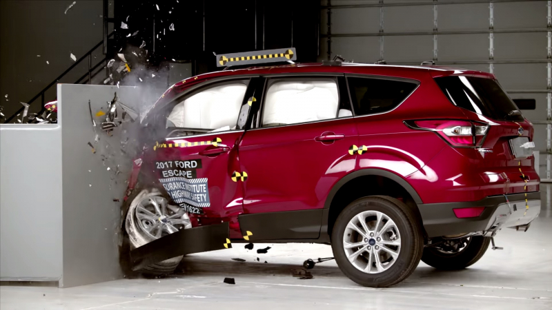 Ford Escape Failed Passenger Safety Test