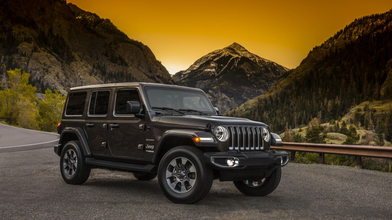 2018 Wrangler and Wrangler Unlimited unmasked on Halloween
