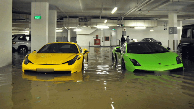 This is how you can avoid buying a flood-damaged used car