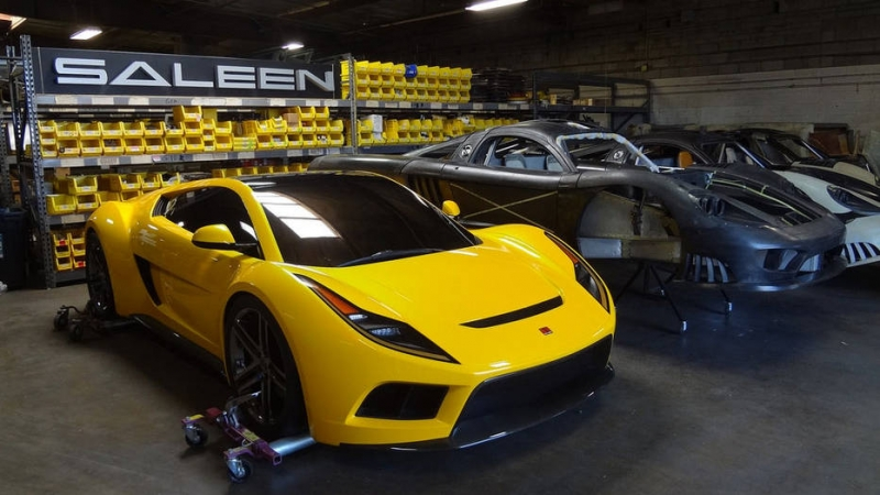 The American company Saleen auctioned an unusual supercar
