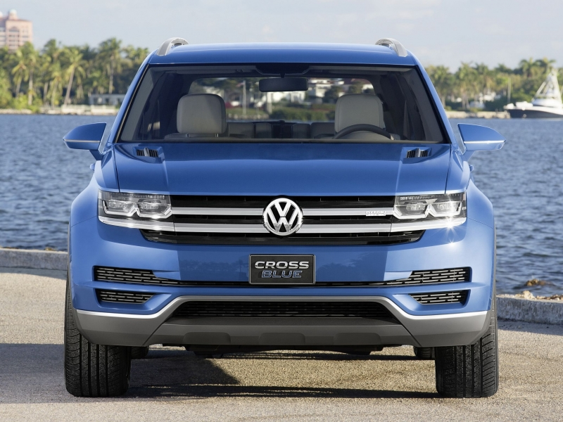 Volkswagen will export the Atlas SUV from the US to Russia in 2017