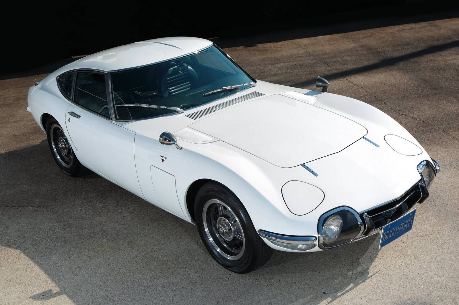 an exclusive 1968 toyota 2000 gt is for sale at auction for over 1 million. Black Bedroom Furniture Sets. Home Design Ideas