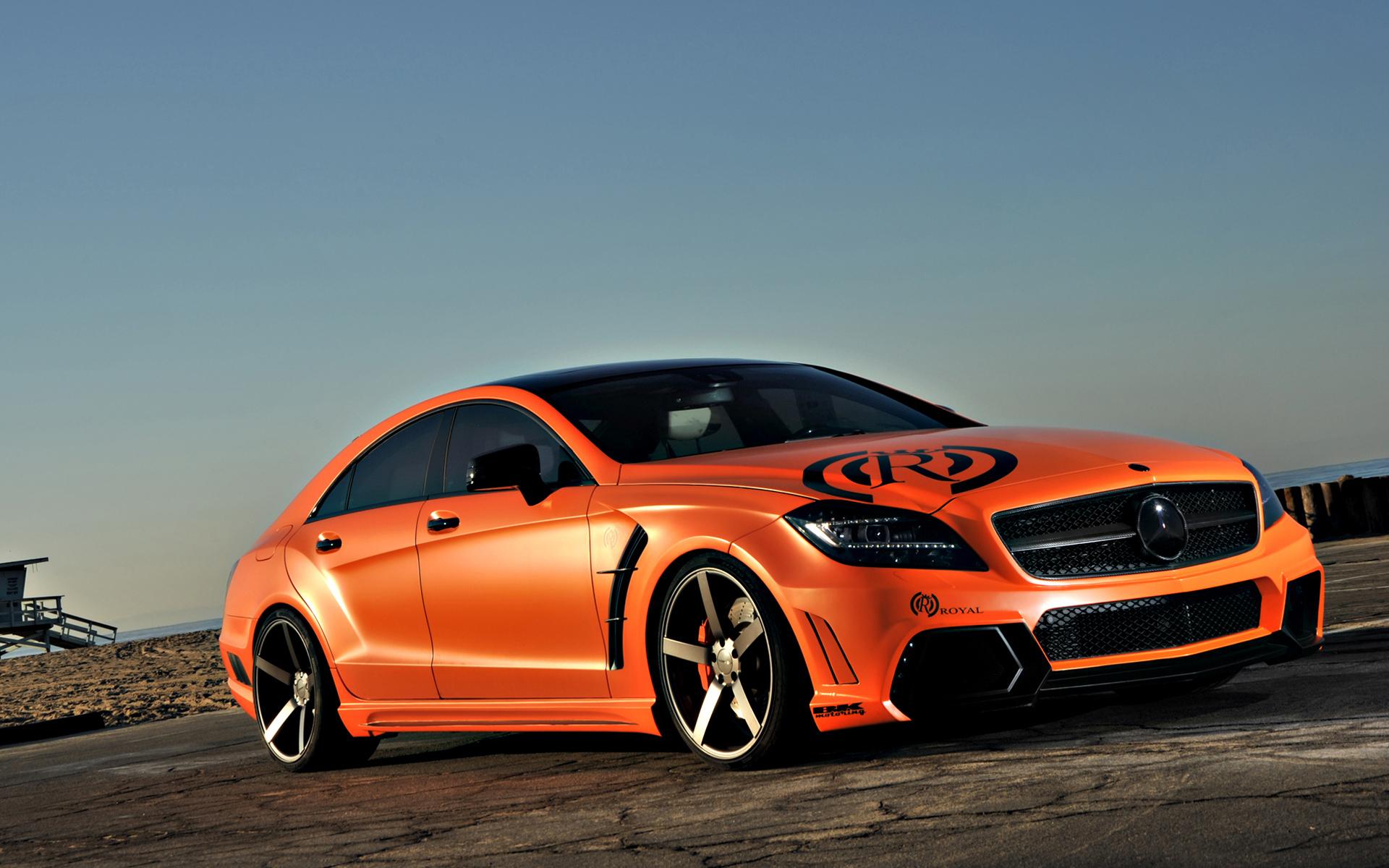 orange car, drive orange car