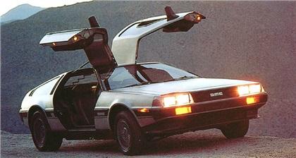 Back to the Future movie, Back to the Future car,1982 DeLorean DMC-12, DeLorean car