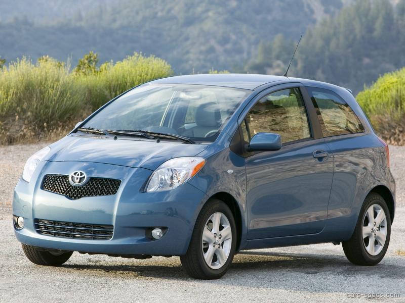 Toyota Yaris, Toyota Yaris blue
