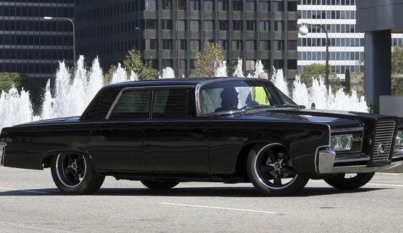 The Green Hornet movie, The Green Hornet car, 1966 Chrysler Imperial, Chrysler