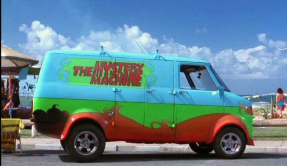 Scooby-Doo, Scooby-Doo movie, Scooby-Doo car,Custom Van