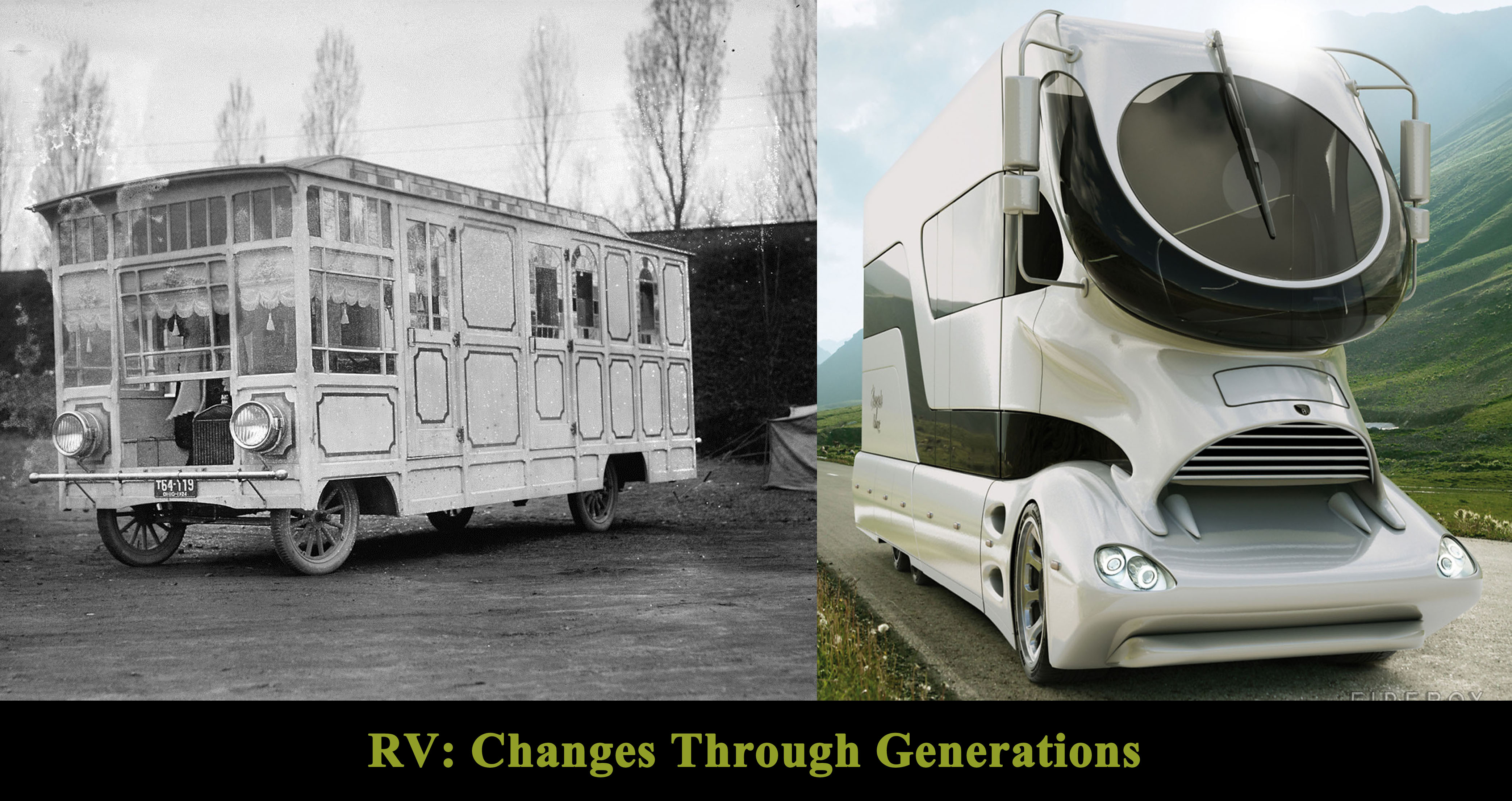 rv car, car rv change