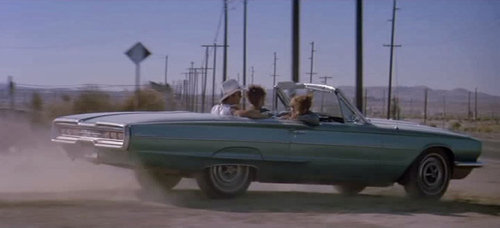Thelma and Louise movie, Thelma and Louise car, 1966 Thunderbird