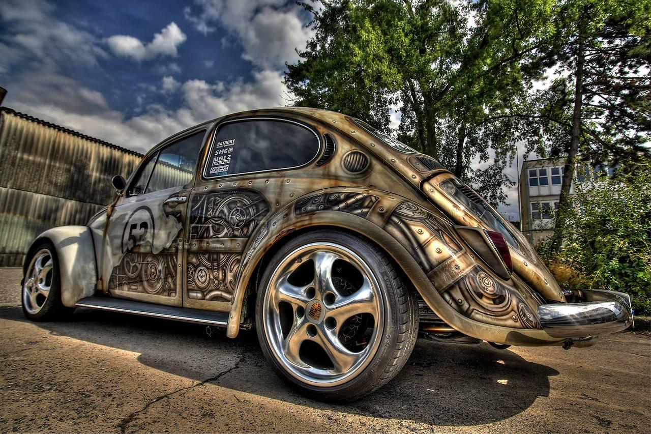 Steampunk Cars
