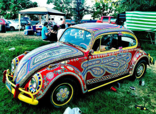 20 cool hand painted car