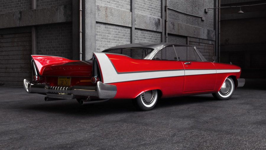 Christine  movie, 1958 Plymouth Fury, Plymouth Fury