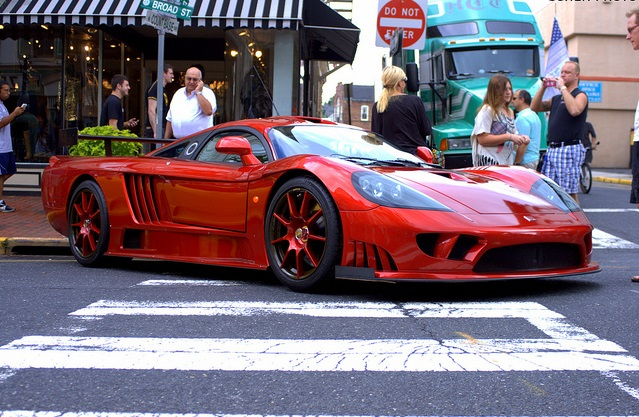 Saleen S7, Saleen S7 car, Saleen S7 red
