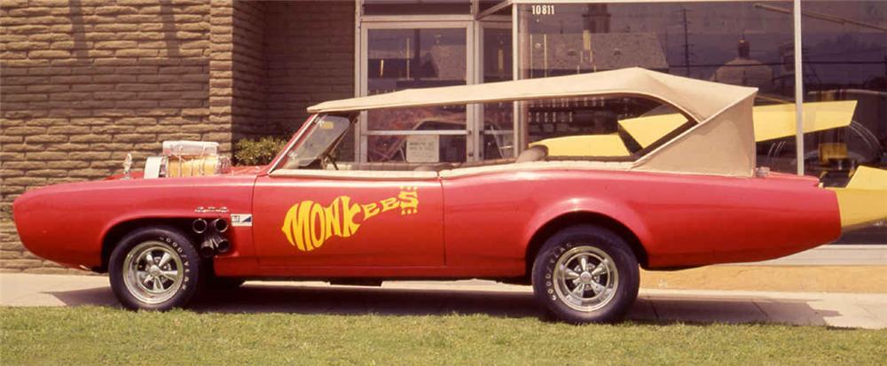 "The ""Monkees"" TV series, The ""Monkees"" TV series car, 1966 Pontiac Gto, Pontiac"