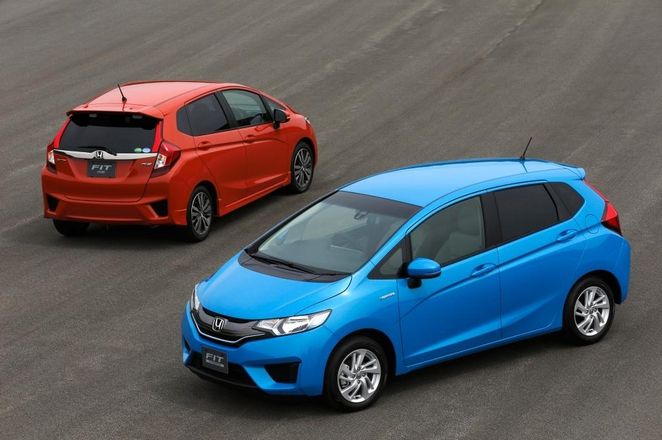 Honda Fit , Honda Fit  red, Honda Fit  blue